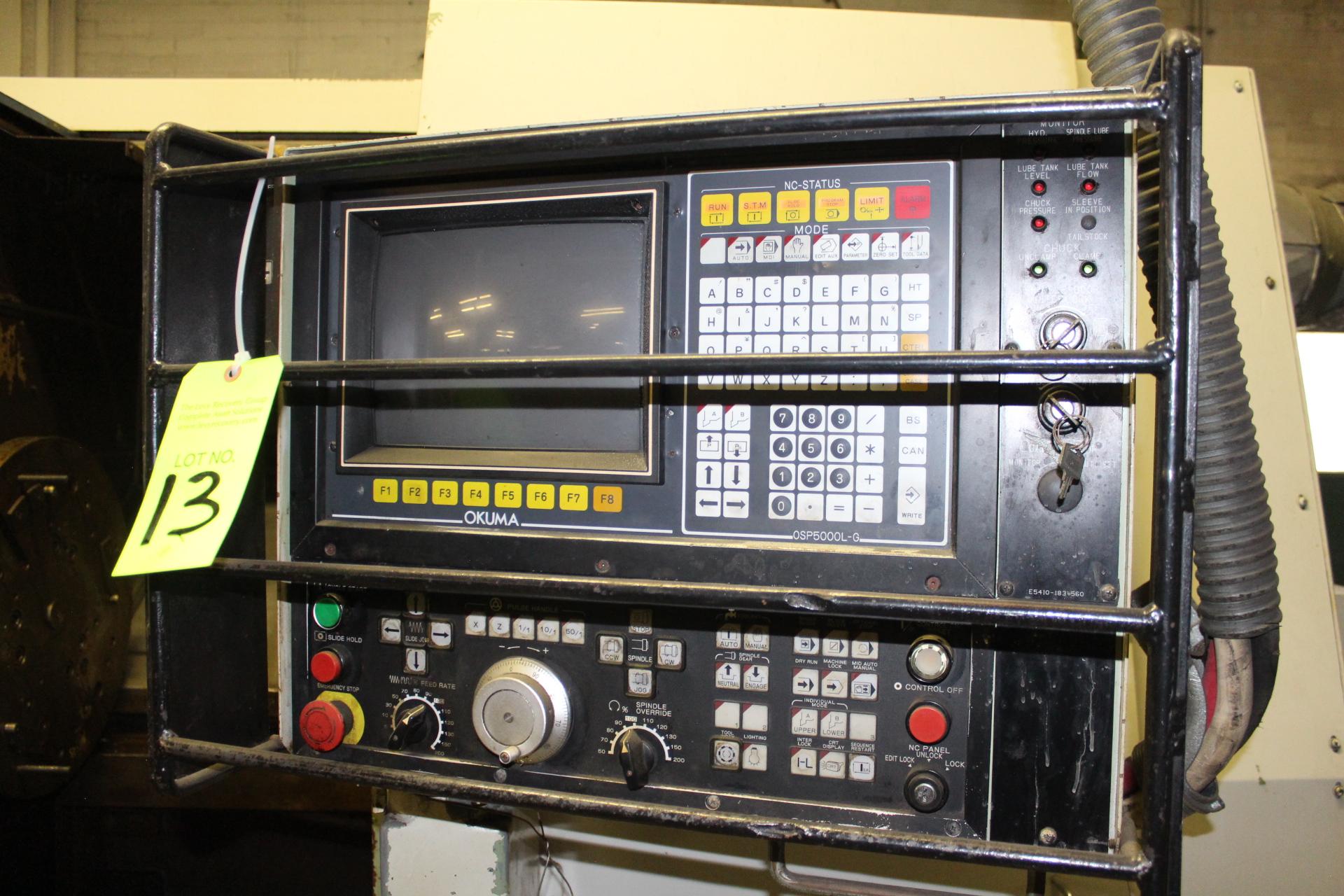 Lot 13 - Okuma LC40 2-Axis CNC Turning Center