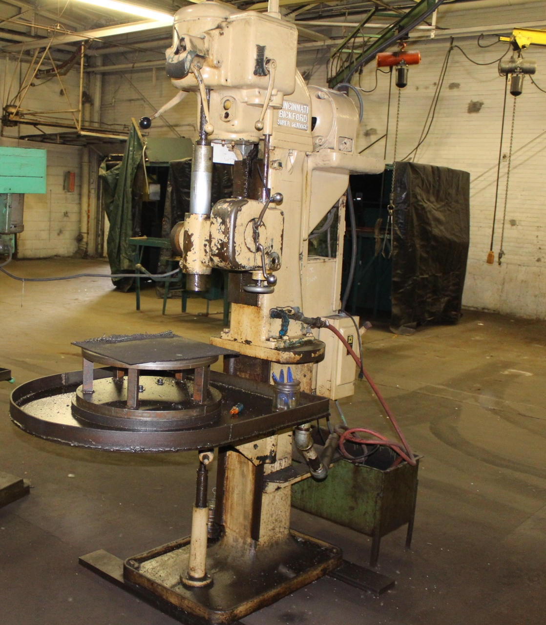 "Lot 63 - Cincinnati Bickford Super Service 21"" Single Spindle Drill Press"