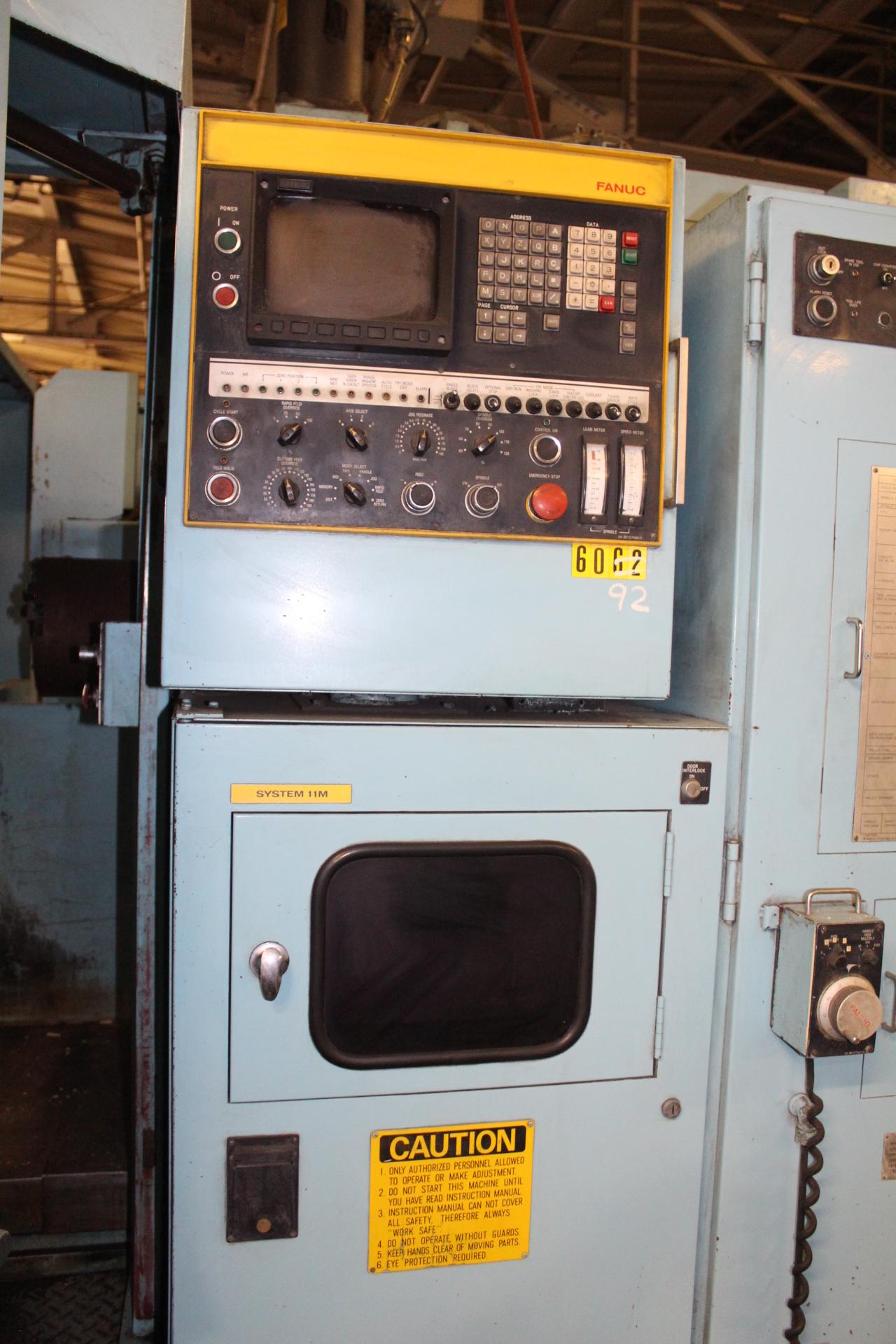 Lot 16 - Toyoda FHN60T Twin Pallet CNC Horizontal Machining Center
