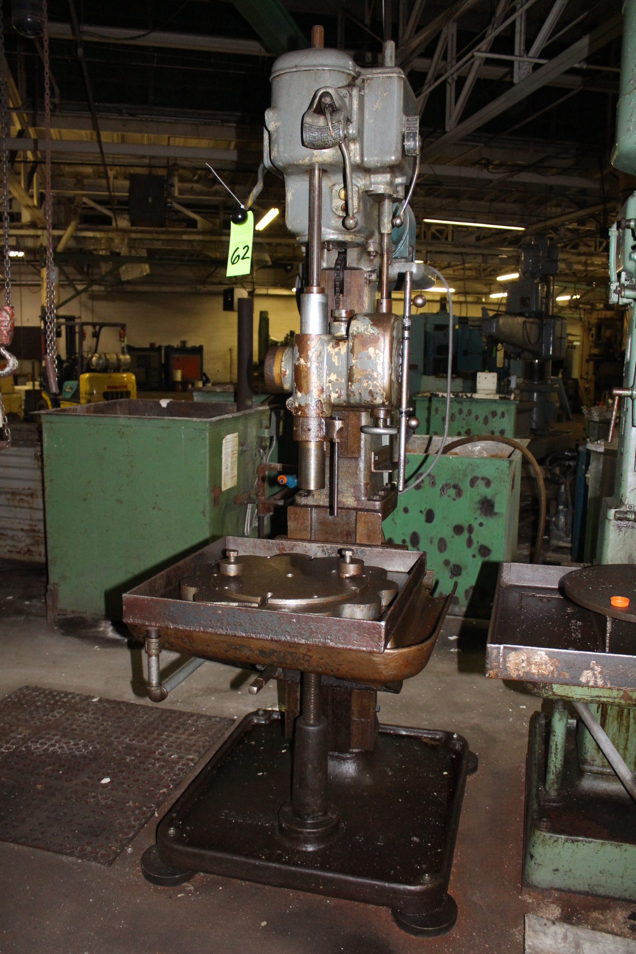 "Lot 62 - Cincinnati Bickford Super Service 21"" Single Spindle Drill Press"