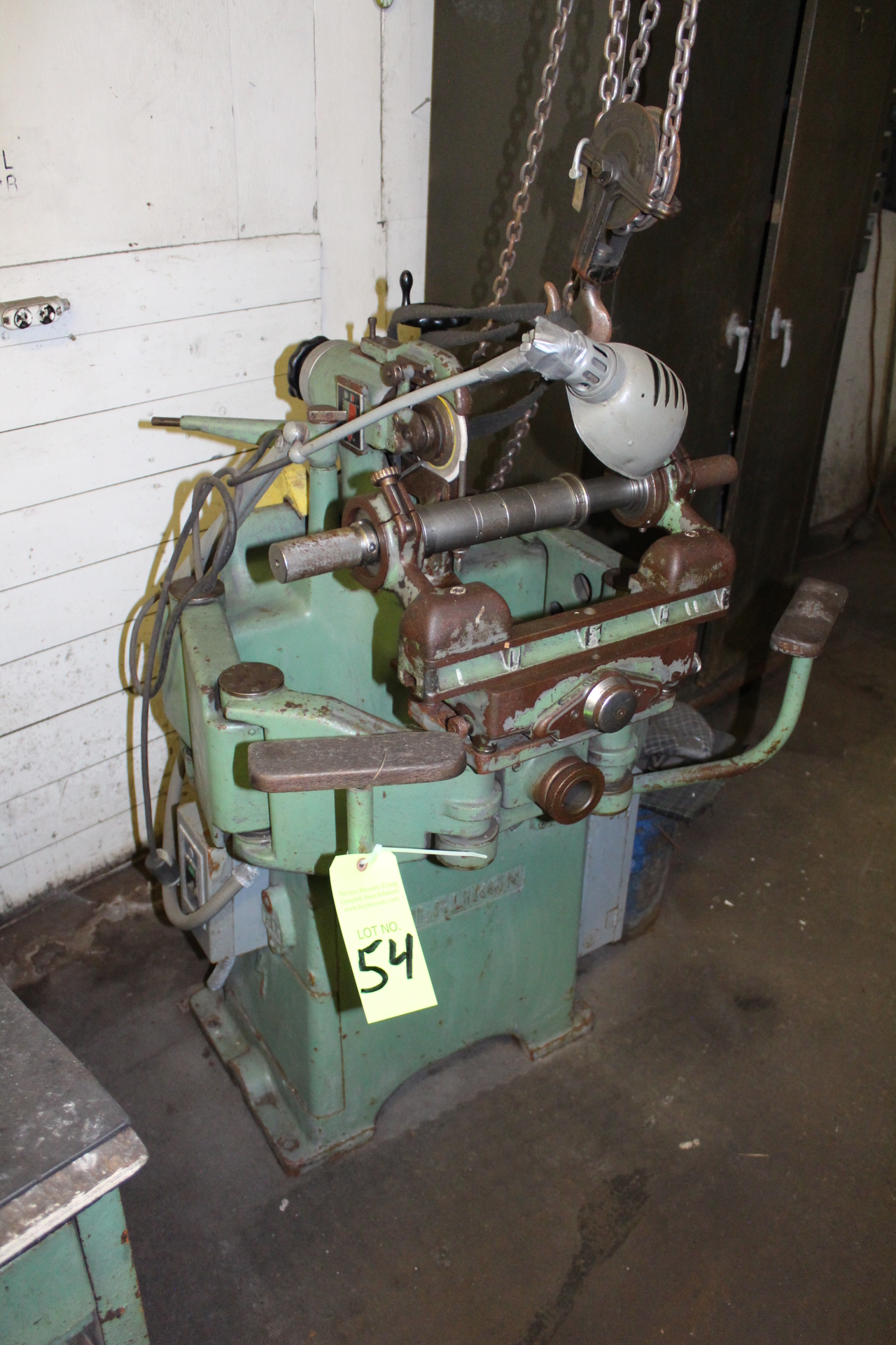 Lot 54 - Oerliken O.D. Type Tool Grinder