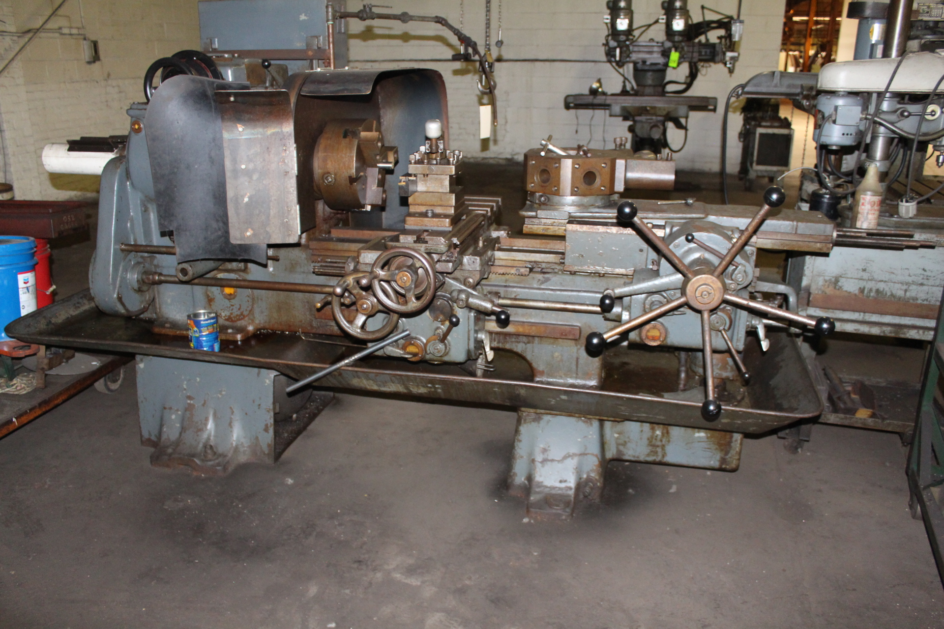 Lot 50 - Gisholt No. 5 Ram Type Turret Lathe