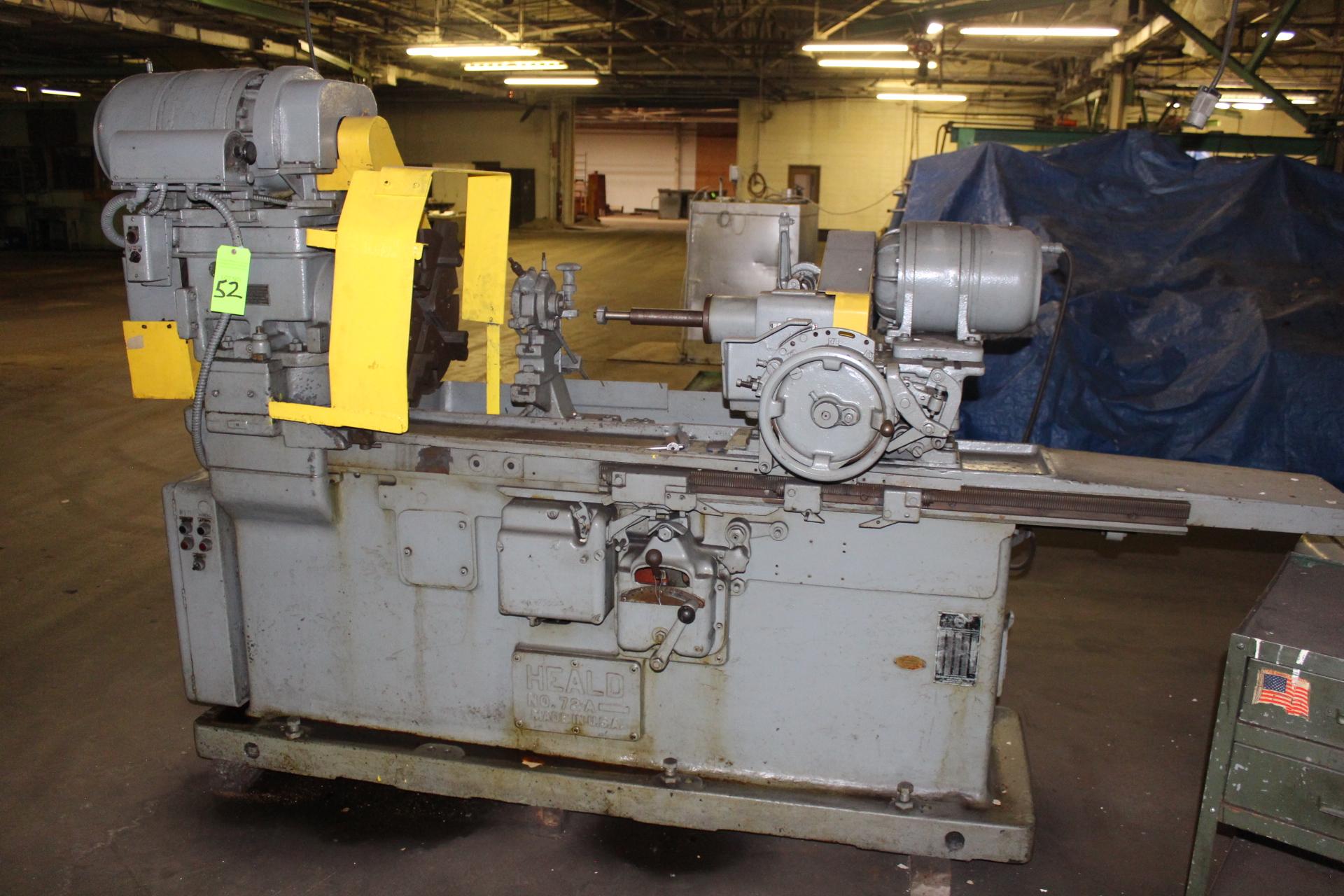 Lot 52 - Heald 72A I.D. Grinder
