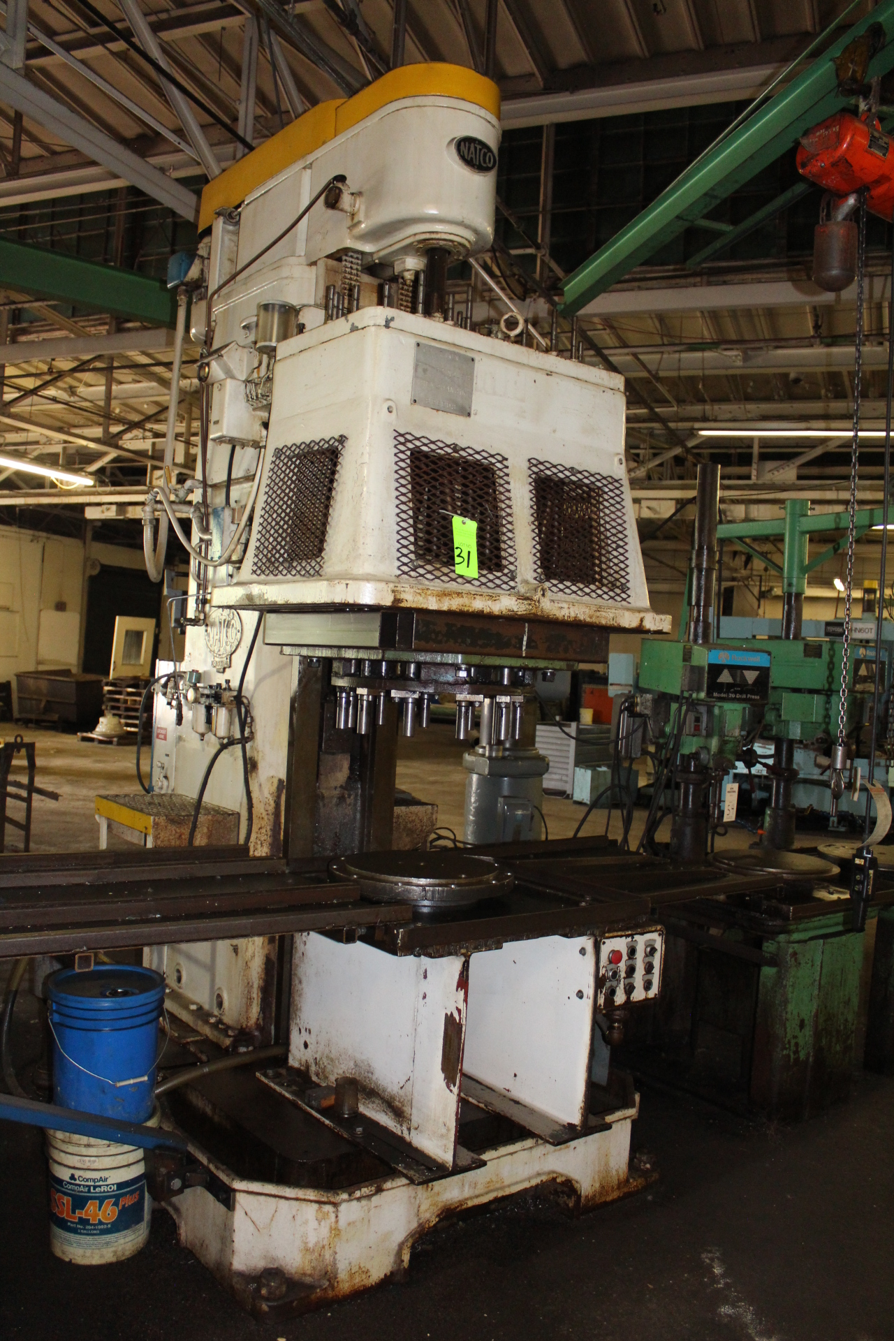 Lot 31 - Natco Multi-Spindle Vertical Production Drilling Machine