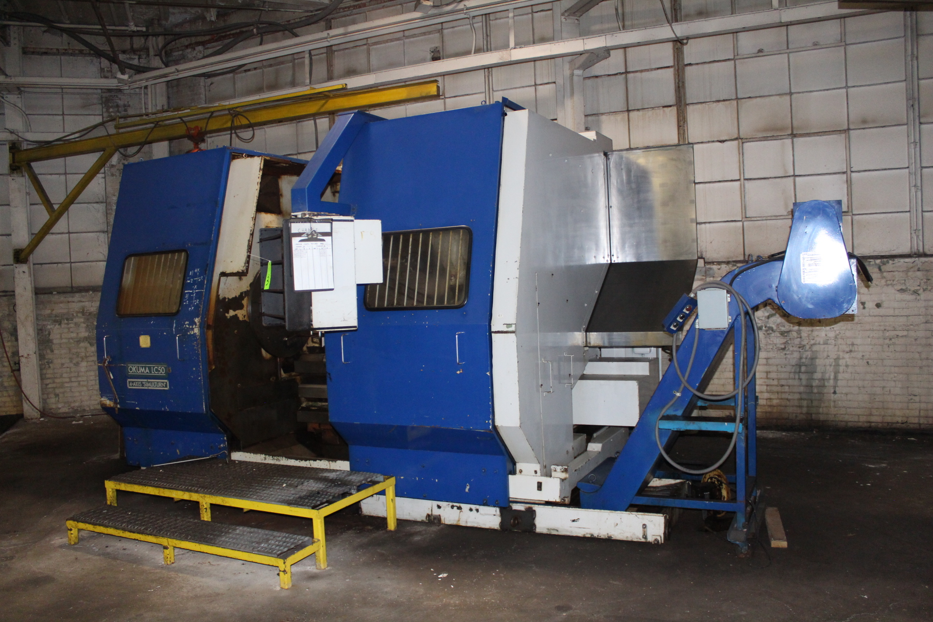 Lot 3 - Okuma LC50-2ST Simulturn 4-Axis CNC Turning Center