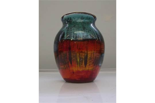 Poole Pottery Vase Patricia Wells 1959 73 17cm High