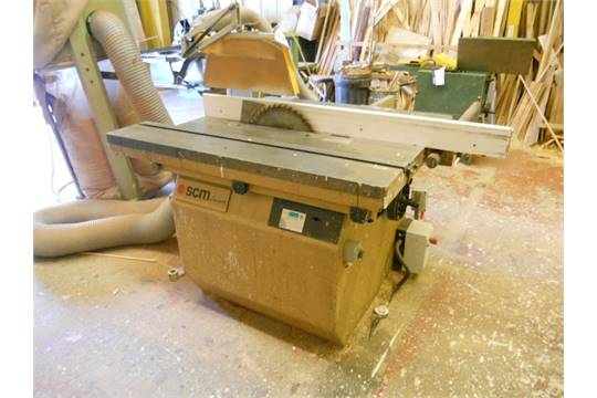 SCM SI15F Panel Saw, Serial Number: AB430283