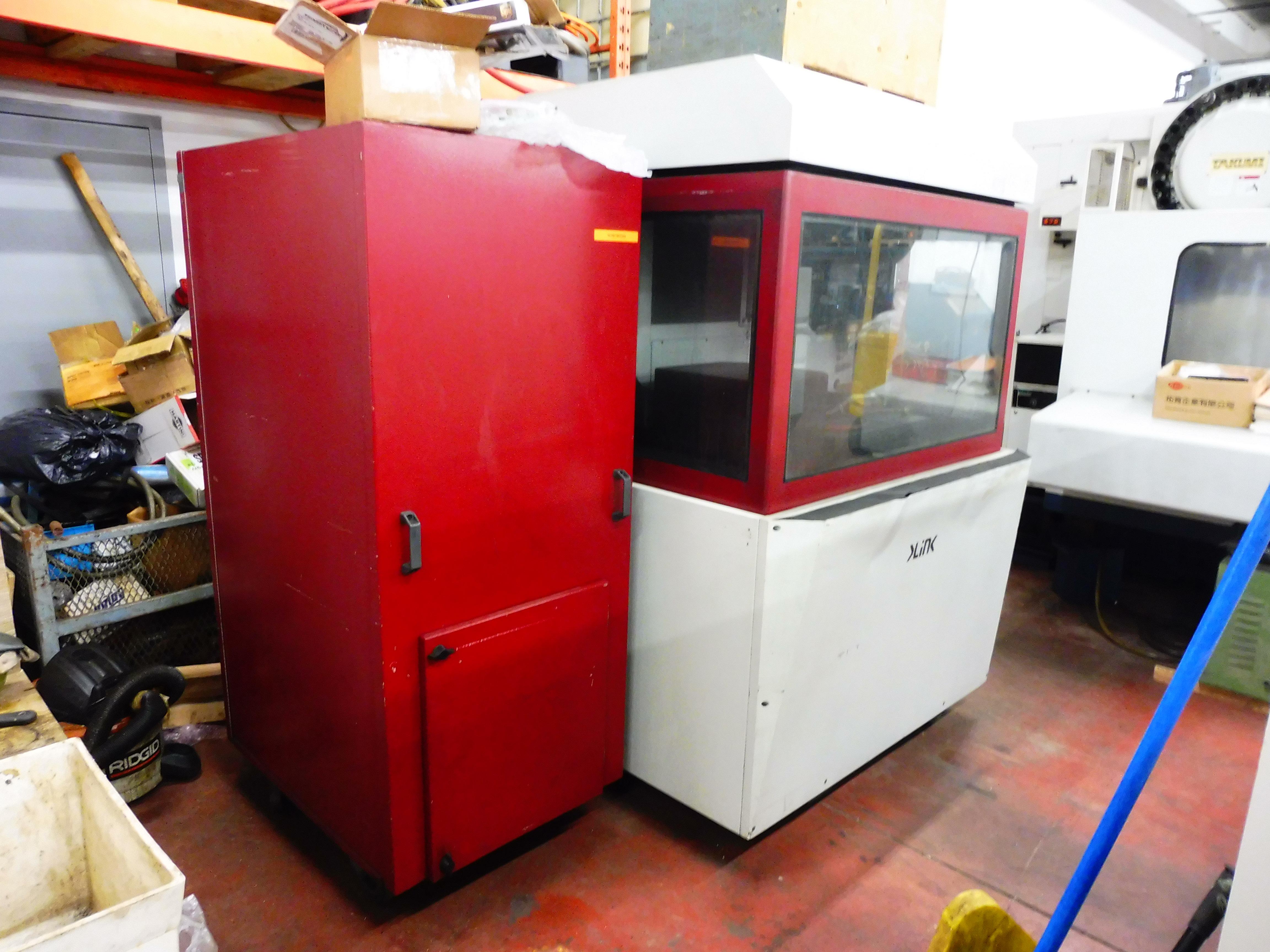 Lot 2 - 1996 KLINK MODEL HSC60-M HIGH SPEED CNC VERTICAL MACHINING CENTRE, S/N 75210701, WITH SEIMENS