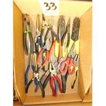 Pliers, Snips and Wire Strippers, Lot Location 3204 Olympia Dr. A, Lafayette, IN 47909