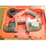 Milwaukee 6242-6 Compact Portable Bandsaw with Case, Lot Location 3204 Olympia Dr. A, Lafayette,