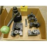 Aloris CXA Toolpost and (6) Toolholders, Lot Location: 301 Poor Dr., Warsaw, IN, 46580