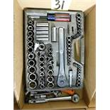Craftsman Ratchet and Socket Set
