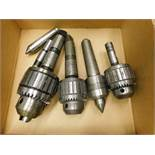 Drill Chucks, Live Center, Dead Center and Arbor, Lot Location: 301 Poor Dr., Warsaw, IN, 46580