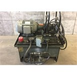 LEESON HYDRAULIC PUMP, MODEL #N 254T17FB11, SERIAL #0303, MOTOR WAJAX FLUID POWER, REF NO. S6130