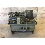 BROOK HASSEN HYDRAULIC PUMP, CAT NO. 2425212-02, TYPE TEFC, MOTOR BERENDSEN FLUID POWEE, SYSTEM #T96