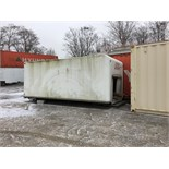 20FT CUBEVAN BOX - FREE LOADING WITH FORKLIFT