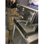 GAGGIA ESPRESSO MACHINE - RECENTLY REMOVED FROM OPERATION