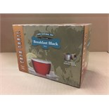 CAZA TRAIL BREAKFAST BLACK 24 SINGLE SERVE CUPS (BIDDING IS PER PACKAGE, MULTIPLIED BY NUMBER OF