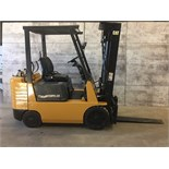 CATERPILLAR (MODEL #G025) 5,000LBS LP 3 STAGE FORKLIFT - SERIAL #4EM04257