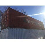 RED 40ft SEA CONTAINER - FREE LOADING WITH FORKLIFT