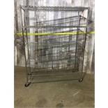 MOBILE COMMERCIAL STEEL SHELVING