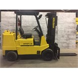 HYSTER (MODEL #S80XL2) 8,000LBS LP PROPANE 3 STAGE CASCADE SIDE SHIFT FORKLIFT - SERIAL #