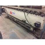 LAWECO HYDRAULIC LIFT TABLE / POWERED ROLLER CONVEYOR