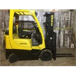 HYSTER (MODEL #S50FT) 5,000LBS LP 3 STAGE FORKLIFT - SERIAL #F187V01902C
