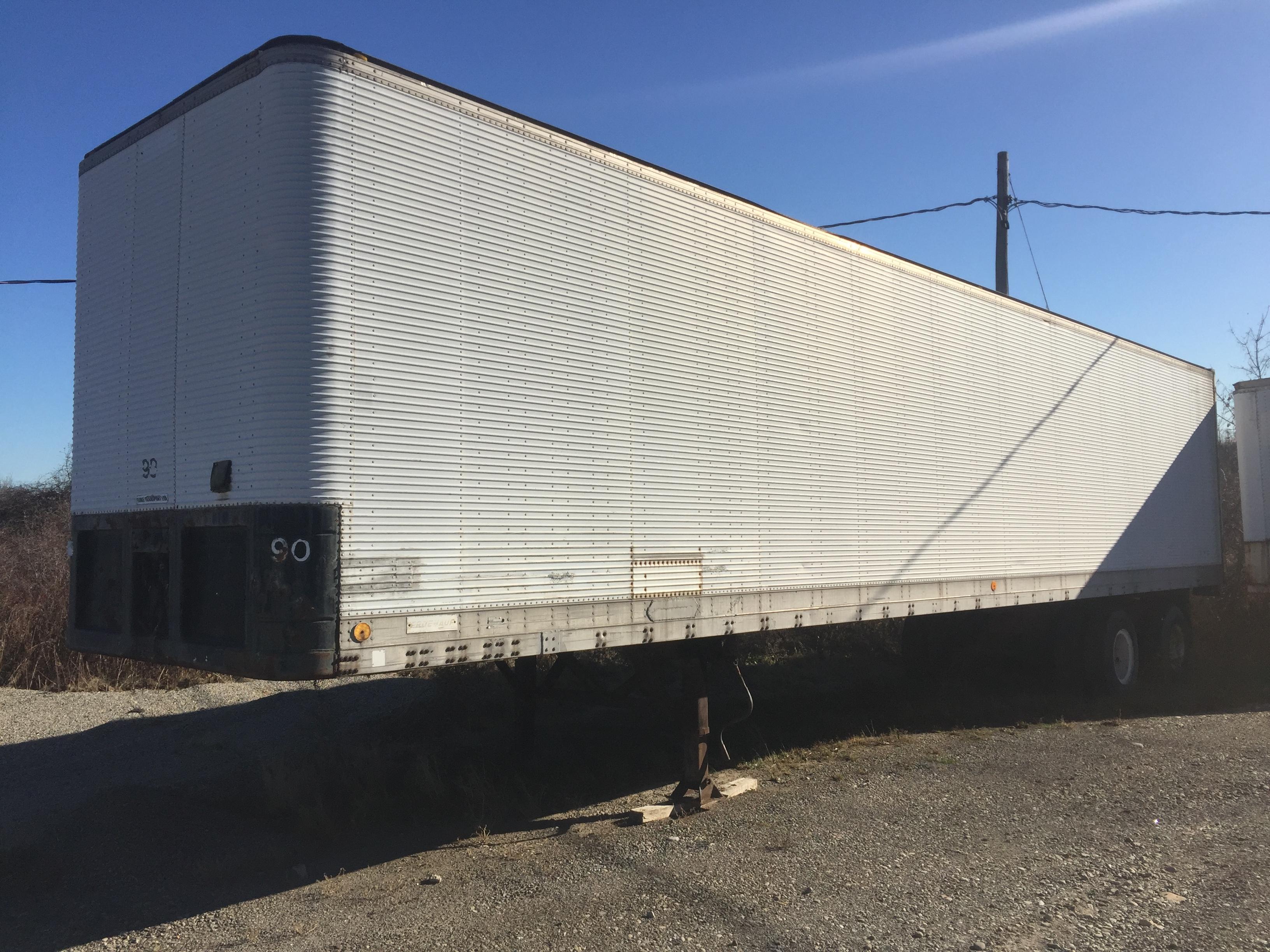 WHITE 48 ft TRANSPORT TRAILER (FLUKE)