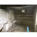 """SPRAY BOOTH (DIMENSIONS: WIDTH 9' 7"""", DEPTH 7', HEIGHT 7' 11"""") (A $400 FEE WILL BE ADDED TO"""