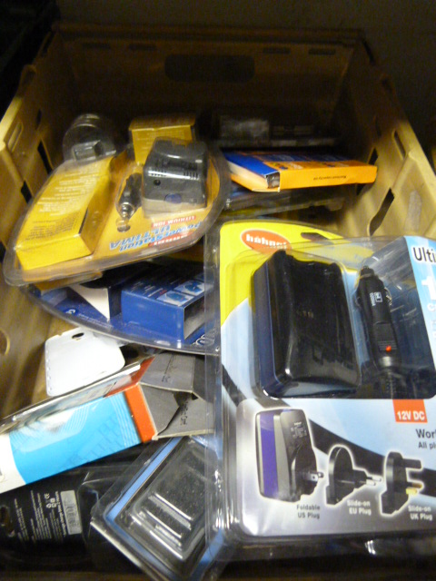 Lot 9 - Box of Electrical Accessories