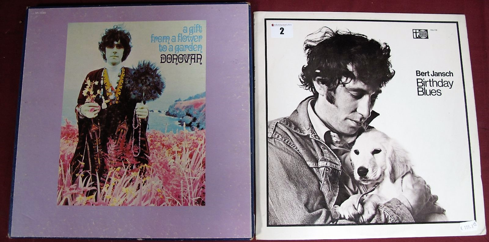 Lot 2 - Donovan - 'A Gift From a Flower to a Garden' (1968, Pye Mono NPL 20000, two LP boxed set with