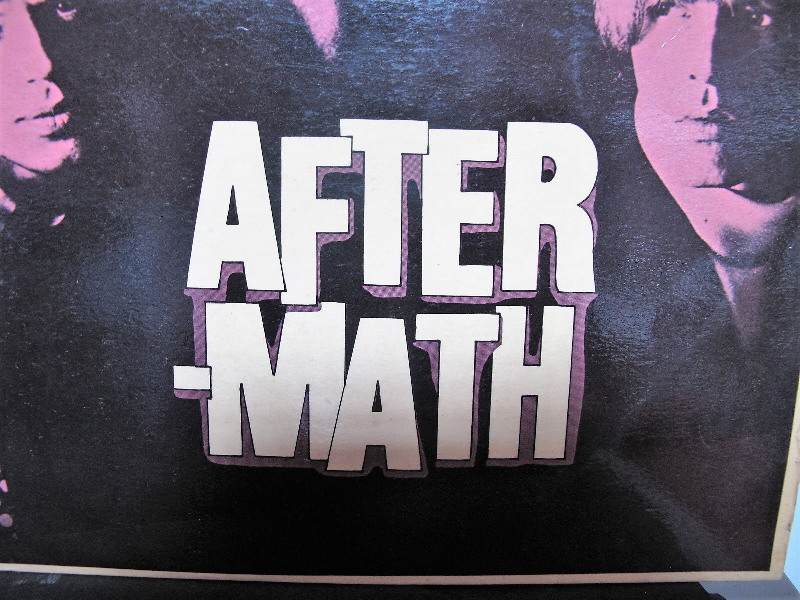 Lot 49A - Rolling Stones - 'Aftermath' LP, with the rare 'shadow' purple tinted sleeve (the withdrawn issue)