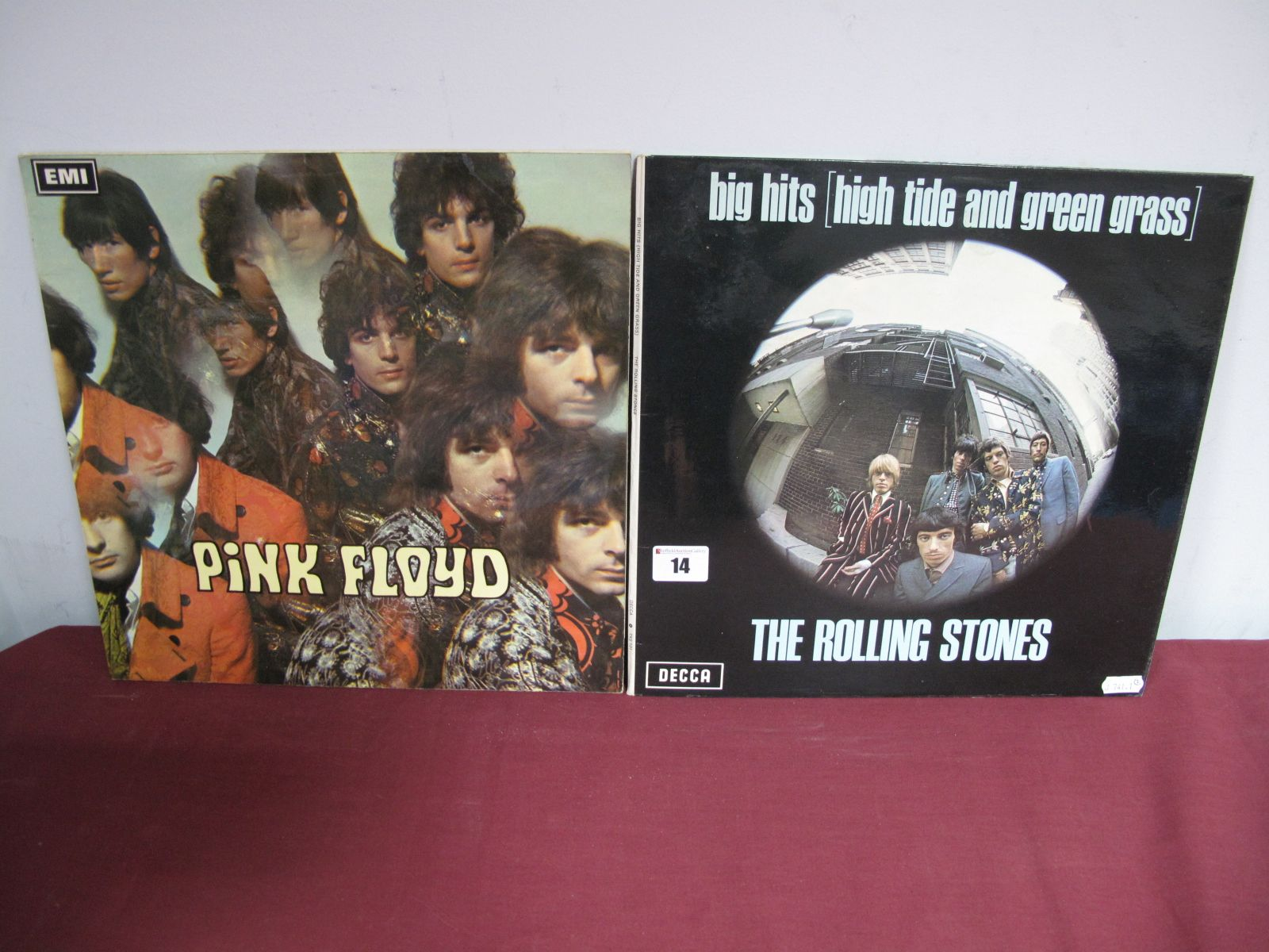 Lot 14 - A Pink Floyd 'Piper At The Gates of Dawn' 1969 Stereo, SCX 6157, boxed EMI/Columbia silver black