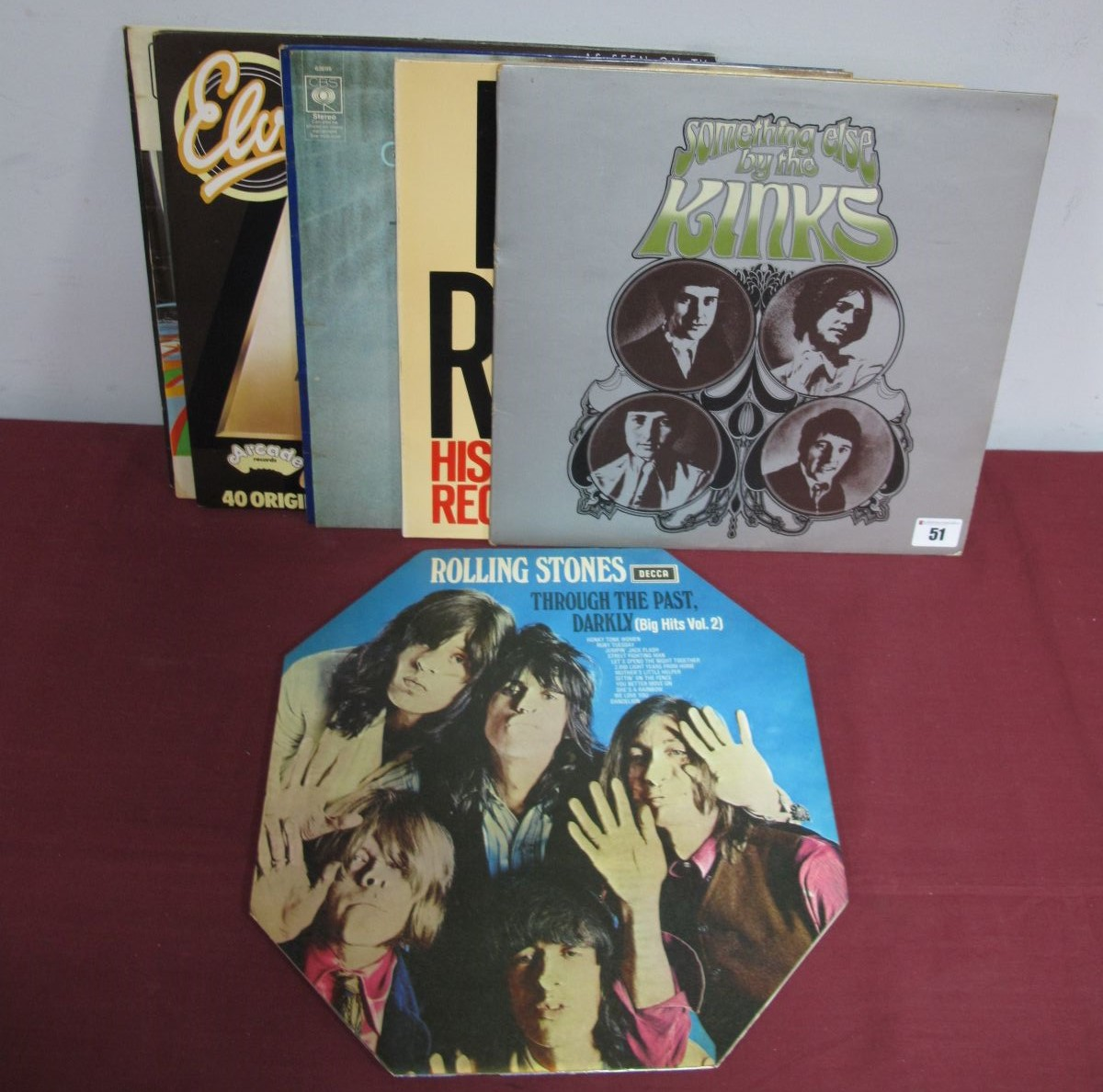 Lot 51 - Rolling Stones 'Through The Past Darkly' 1970 Unboxed Decca, stereo 1st UK pressing SKL-5019, matrix