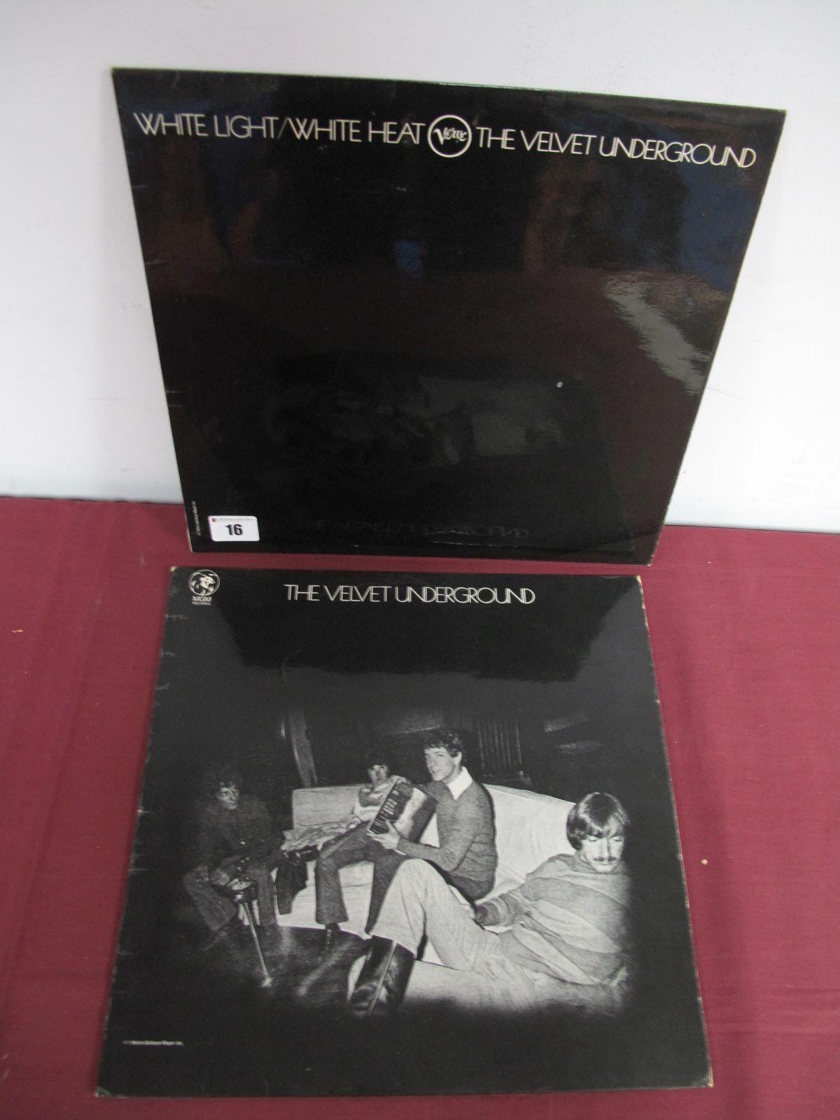 Lot 16 - Velvet Underground: 'White Light/White Heat' LP, stereo SVLP 9201, 1968, flip back front,