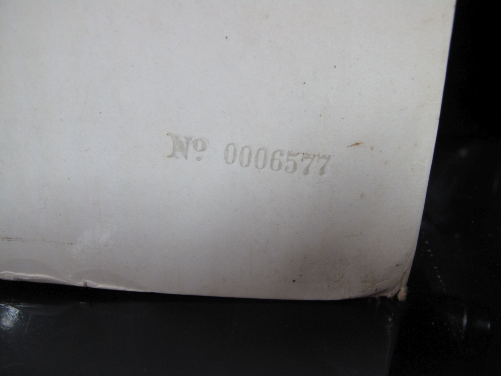 Lot 55 - Beatles 'White Album' LP 1968 Apple, PMC 7067/8, 1st press top loader, with EARLY NUMBER on