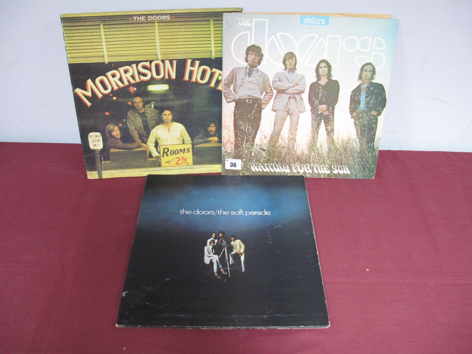Lot 36 - Doors LP's - Waiting For The Sun, (Elektra Mono EKL 4024, textured orange label, A1/B1 matrix,