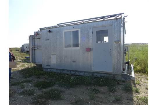 Ariel Compressor, Skidded Building, Ariel JG A/2 Frame, 3