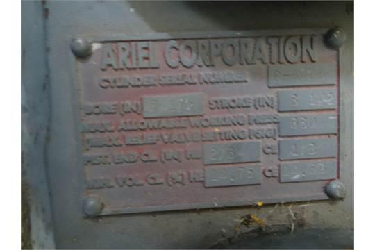 Ariel Cylinder, 2 3/4 Bore, 3 1/2 Stroke