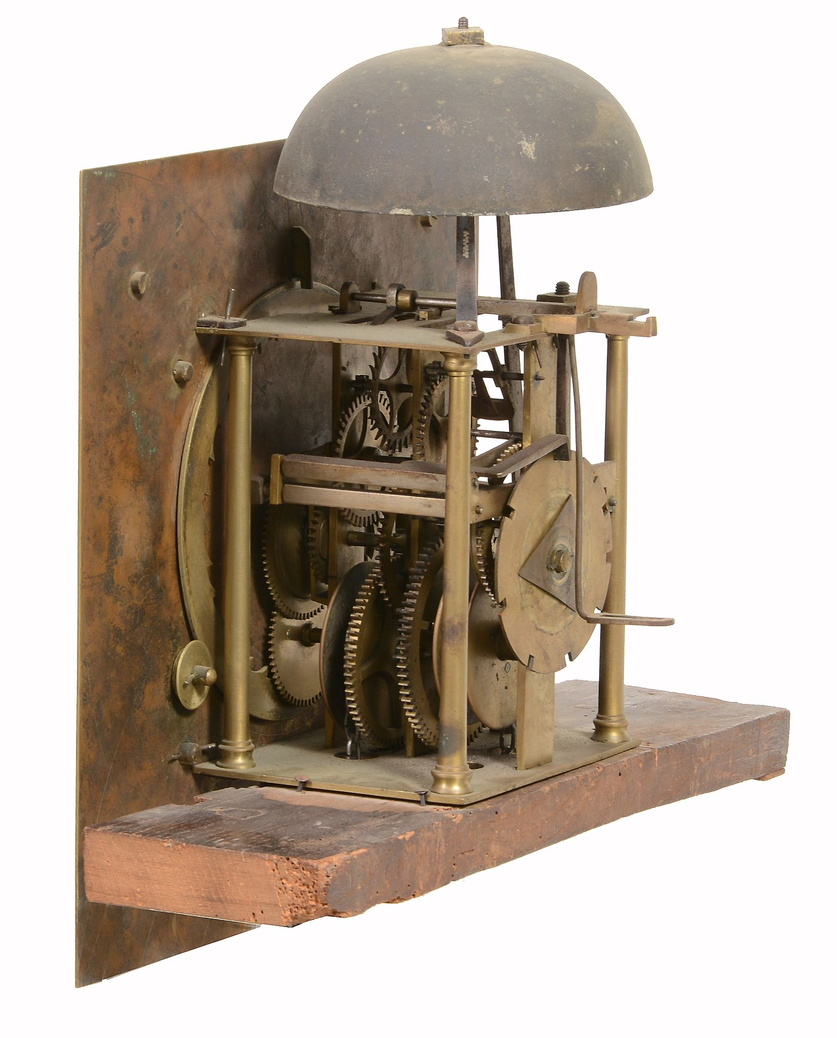 A George II oak thirty-hour longcase clock Edward Bilbie, Chew Stoke - Image 3 of 4