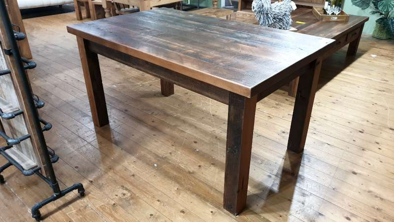 Lote 151 - 5FT X 3FT RECLAIMED WOOD TINING TABLE RRP 749.00