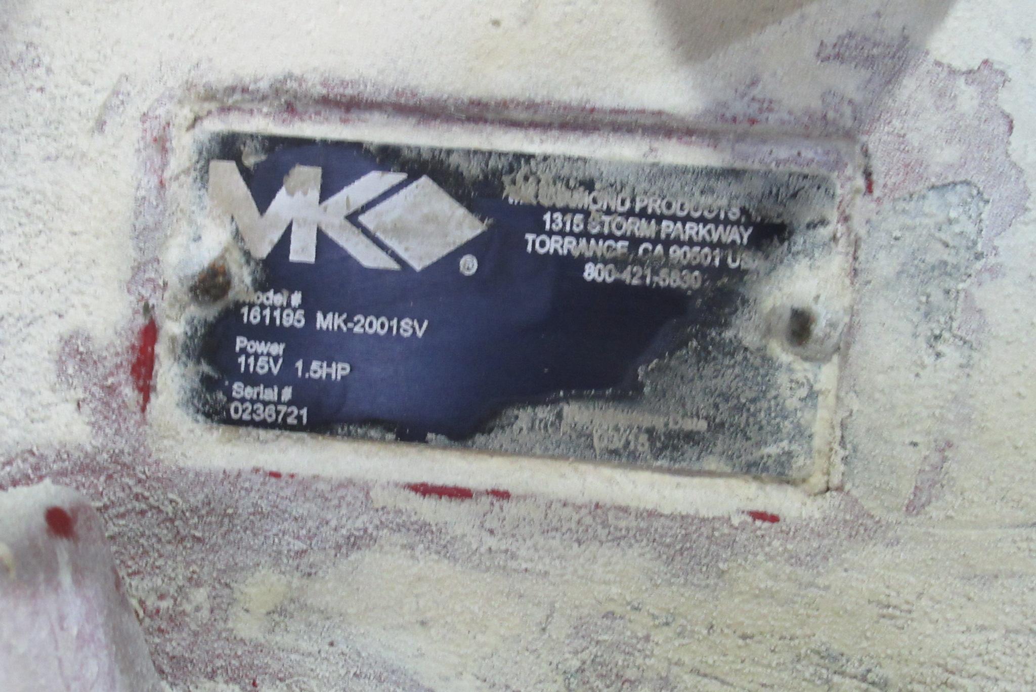 Lot 21 - MK Brick Saw Abrasive Cut-Off Saw