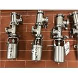 (3) Tri-Clover Air Valves | Rig Fee: $30