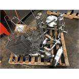 (9) Air Valves, (2) Plug Valves, (2) COP Baskets, Flow Meter Parts | Rig Fee: $100