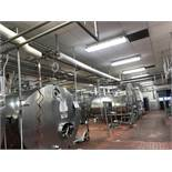 Stainless Steel tubing in Tank Area, Approx 1500 Ft, (3) Flowverters( HTST Piping | Rig Fee: $2000