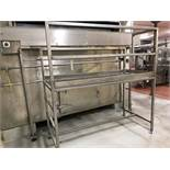 32in x 72in Stainless Steel Inspection Platform   Rig Fee: $100