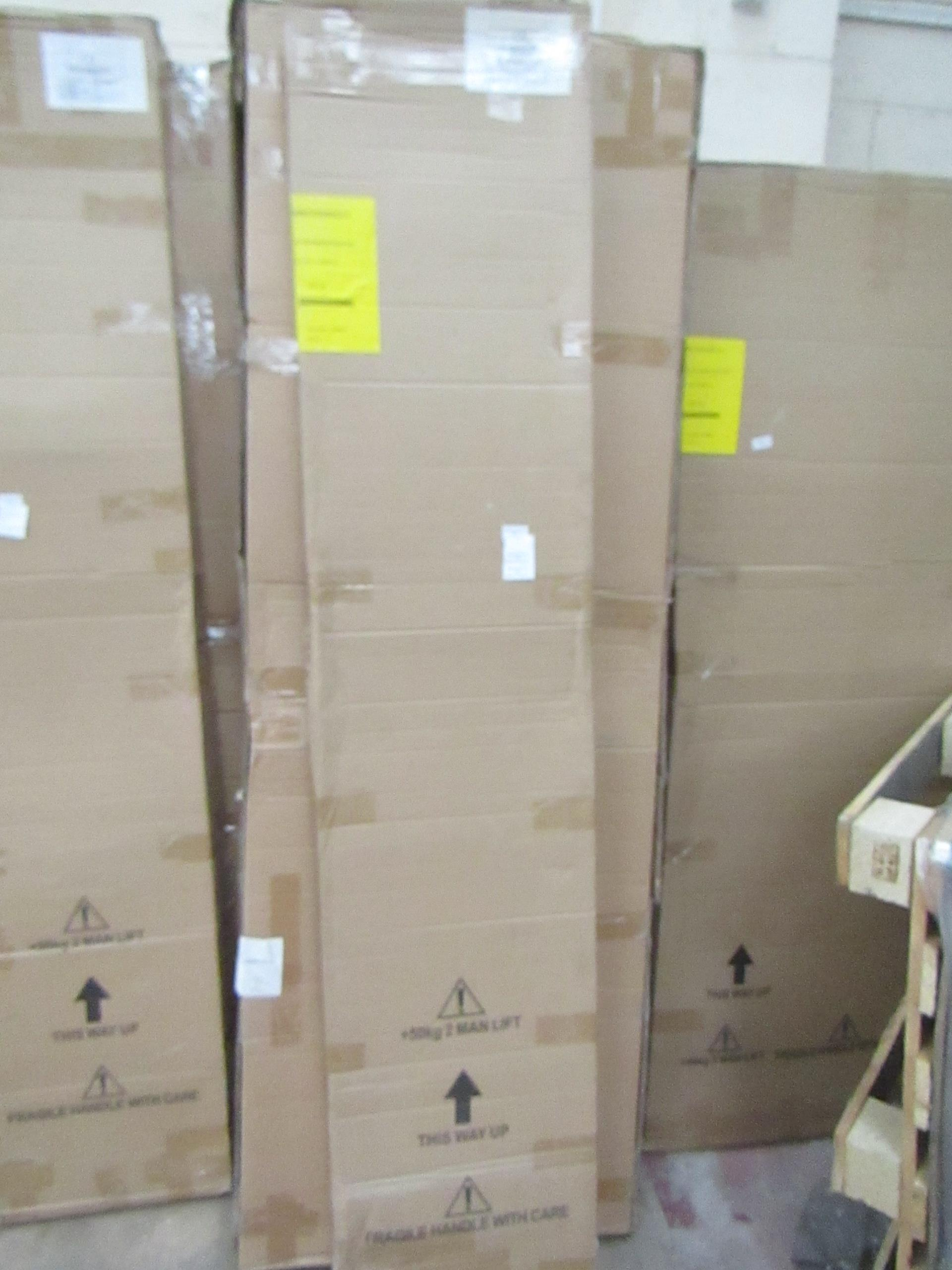 Lot 55 - Manhattan glass Quad shower enclosure (no Tray), 800x800m, unused and boxed, comes in 2 boxes
