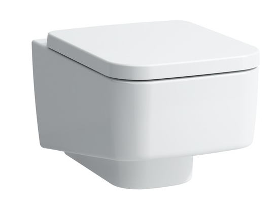 Laufen Pro 25 wall mounted toilet, new and boxed, RRP £257, Does not include Toilet seat