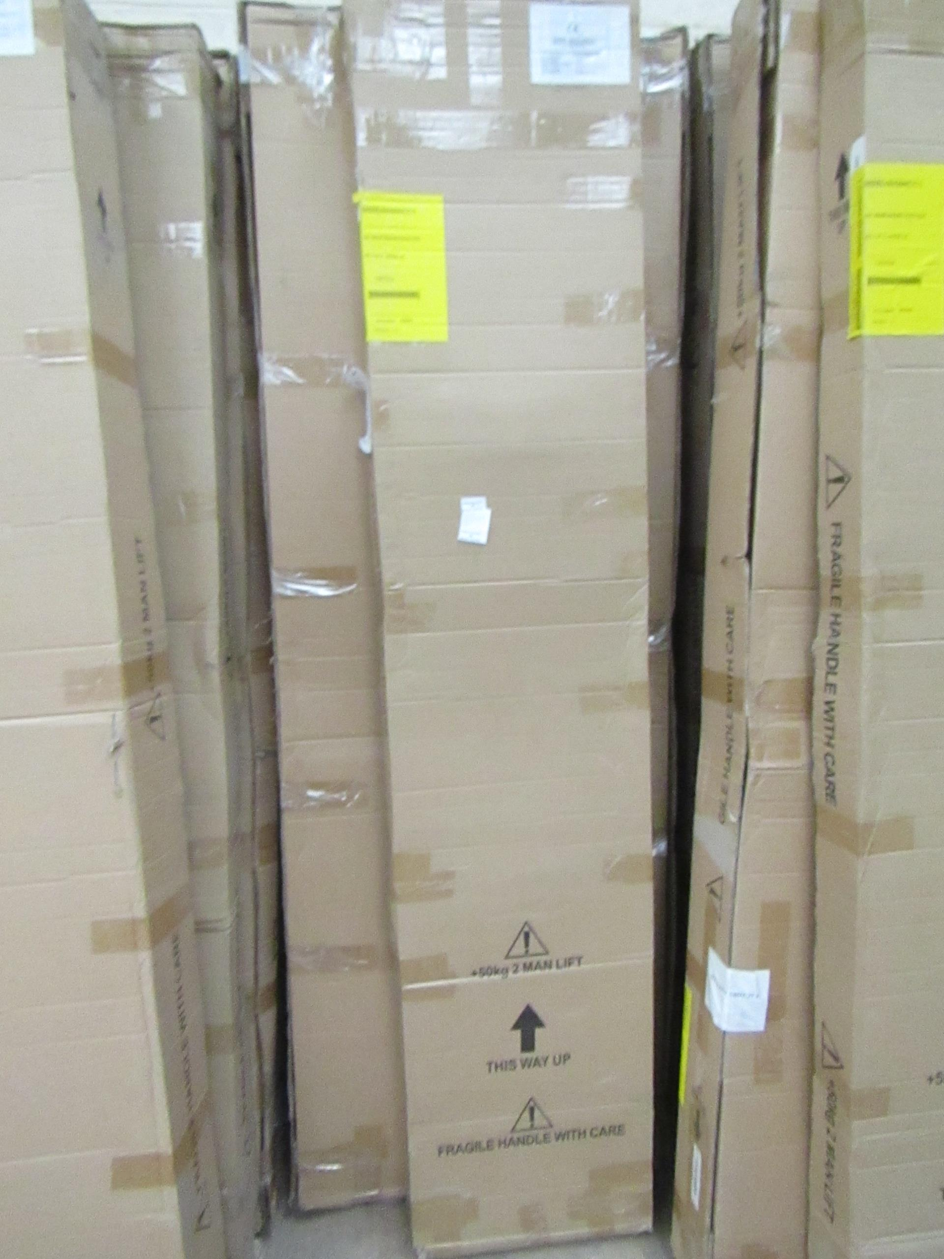 Manhattan glass Quad shower enclosure (no Tray), 900 x 900m, unused and boxed, comes in 2 boxes - Image 2 of 2